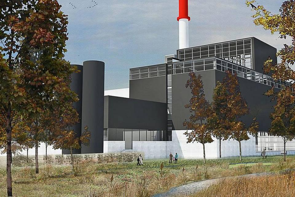 Ny ovnlinje og turbinebygning