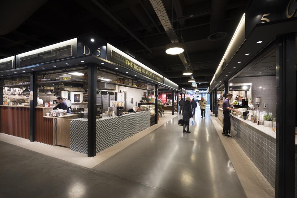 Opførelse af nyt madmekka i City 2 - Projekter - Hoffmann i Danmark