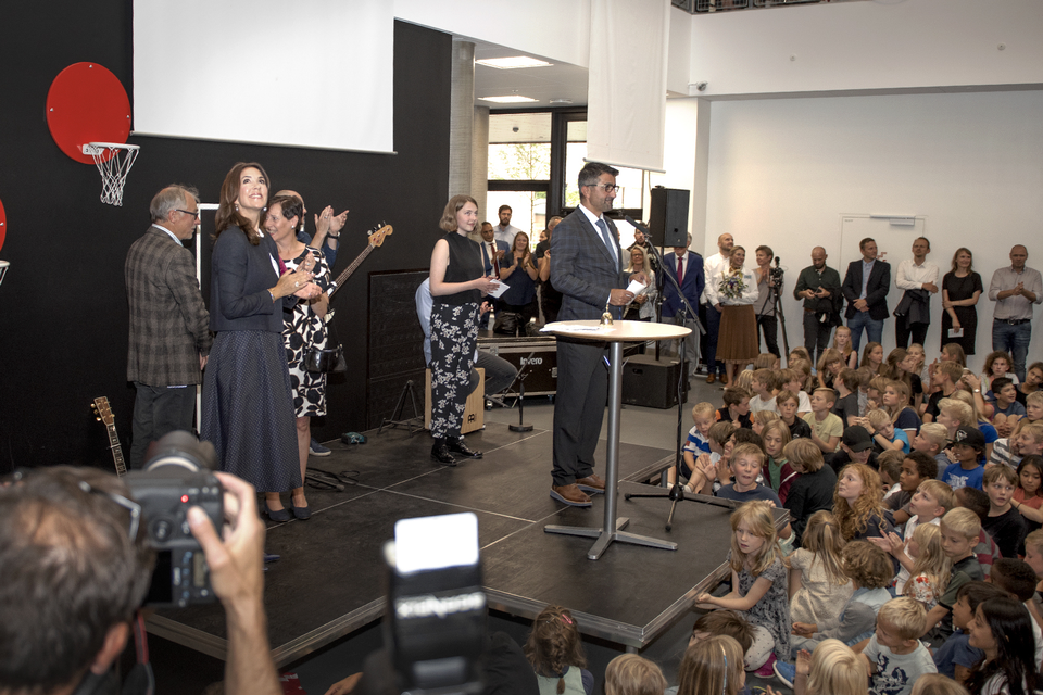 Indvielse af Frederiksbjerg Skole